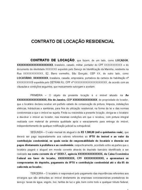 Resultado de imagem para contrato de aluguel residencial