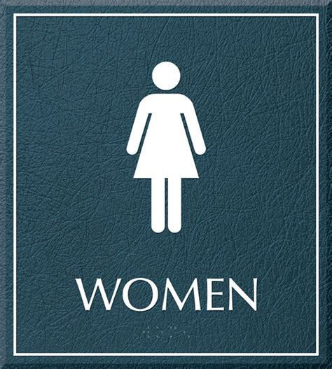 women bathroom justbathroomsigns