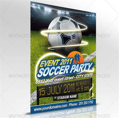 free soccer flyer template 160 free and premium psd flyer design templates print