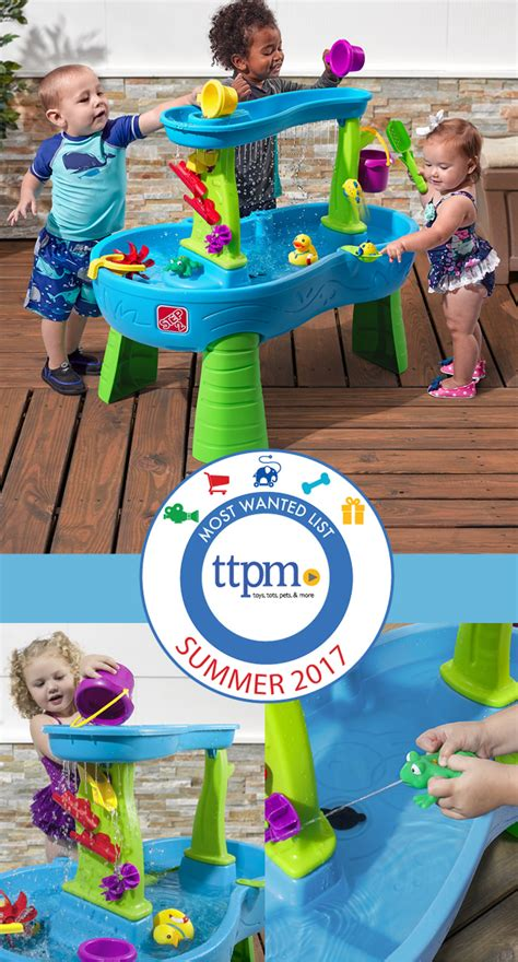 step2 showers splash pond water table showers splash pond water table selected as most