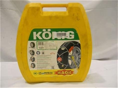 cadenas konig no problem set snow chains konig no problem magic t2 model 100