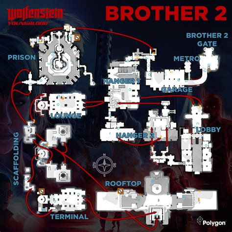 wolfenstein youngblood concept package map  locations