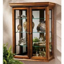 Wall Mounted Curio Cabinets White Wall Curio Cabinets Wall Mounted Curios Save Space