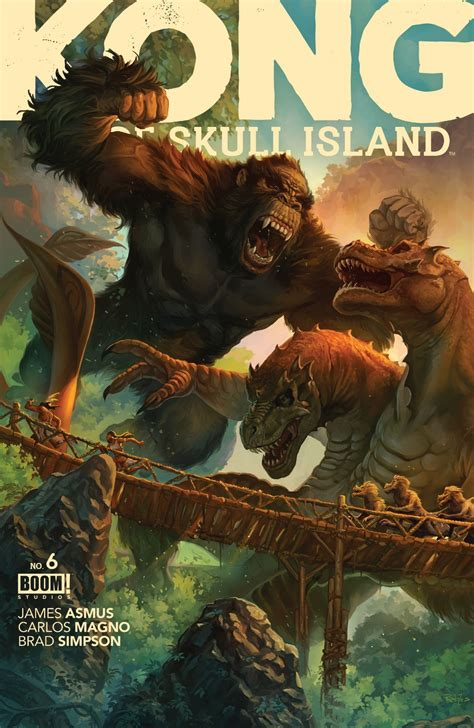 RICH REVIEWS: Kong of Skull Island # 6 ? First Comics News