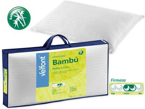 precio de almohadas comprar almohada de fibra bambu de velfont