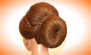 with hair pics hairstyle for medium long hair bun updo youtube