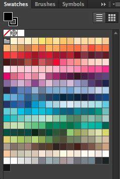 adobe illustrator make pattern swatches kona 174 illustrator swatches install tutorial pile o fabric