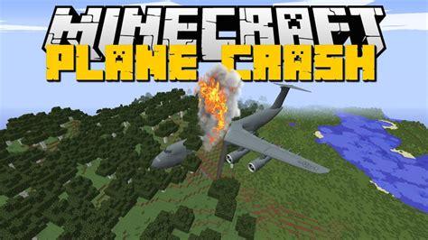 minecraft boat plane minecraft plane crash mod helicopters planes boats mod