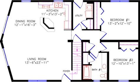 2 Story Cottage House Plans chalet