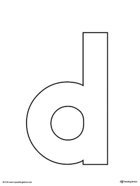 capital letter d template lowercase d template pictures to pin on pinsdaddy