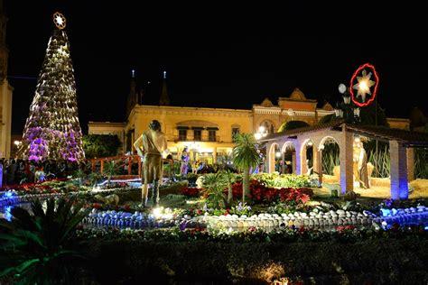 encienden 225 rbol navide 241 o y nacimiento en la plaza