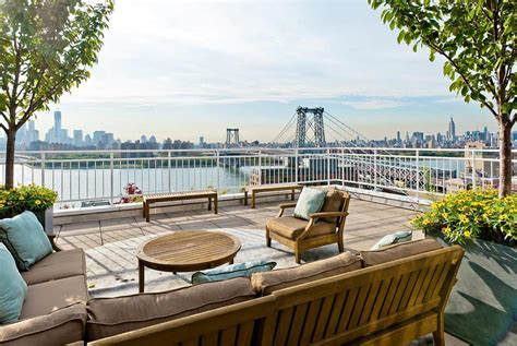 penthouse terrace roof terrace brooklyn penthouse with panoramic views