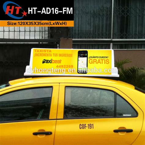 Car Roof Advertising Box - car top advertising promotion shop for promotional car top
