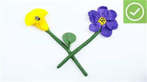 creare fiori come creare fiori con l argilla 6 passaggi