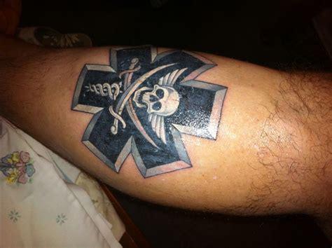 star of life tattoos ems of pirate tattoos