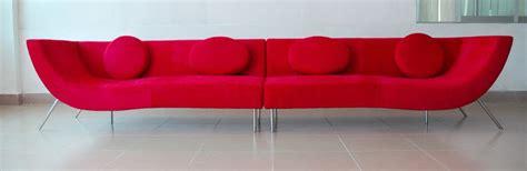 modern red sofa home design modern red sofa