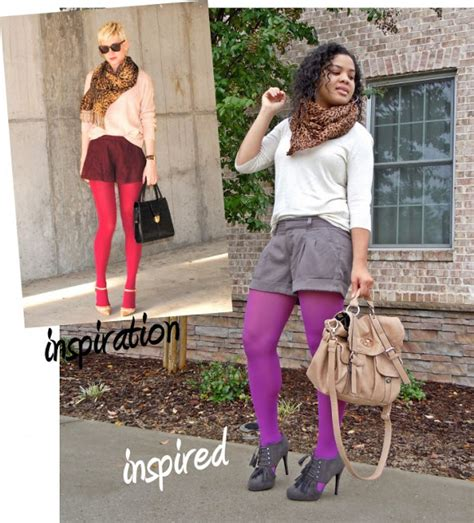 7 Tips For Wearing Brightly Colored Tights by Afro Funk Eeeek Same When Friends Dress Alike