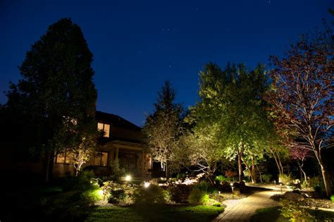 landscape lighting repair upgrades and led conversion