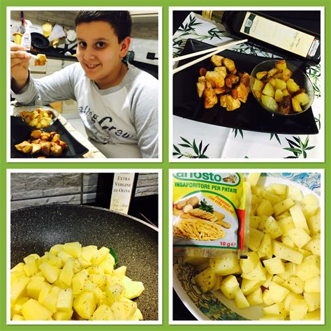 cucinare con la salsa di soia pollo con salsa di soia e patate gustose in cucina con