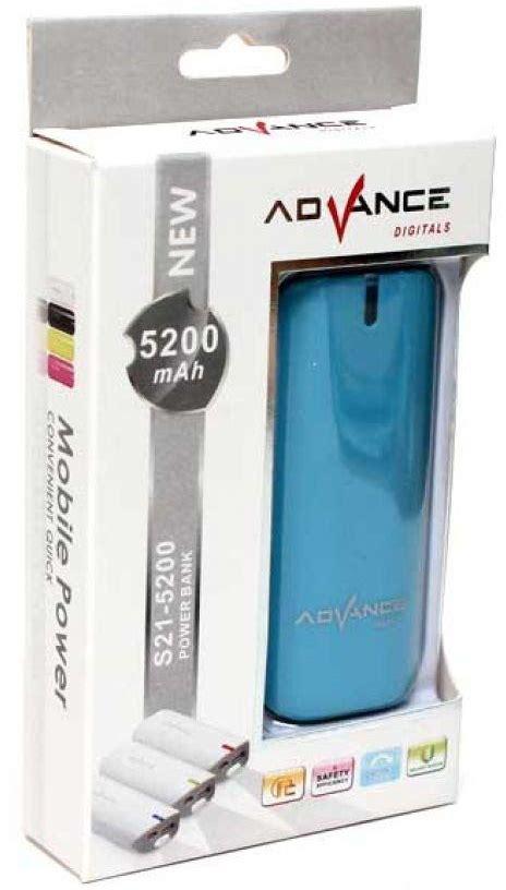 Power Bank Advance S21 5200 spesifikasi dan harga advance power bank s21 5200 mah
