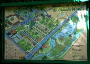 monets garten giverny plan monets garten map of monet s garden