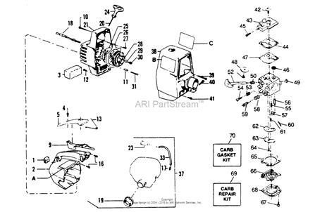 gas l post parts husqvarna 223l parts diagram engine diagram and wiring