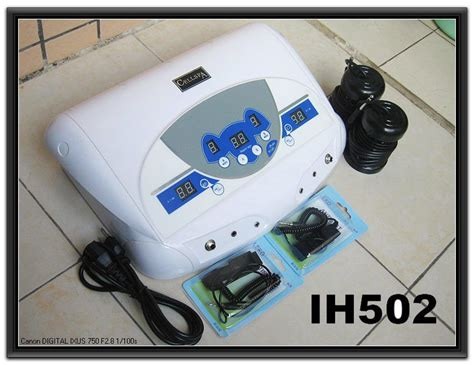 Cell Spa Detox by China Dual Mp3 Cell Spa Ion Cleanse Detox Machine Ih502