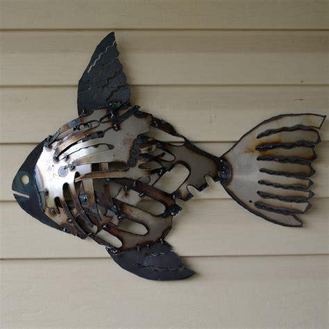Decorative Metal Fish Wall Art by Metal Fish Wall Decor Decor Ideasdecor Ideas