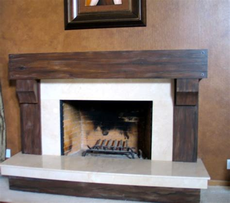 faux wood fireplace faux wood grain fireplace and faux leather wall 2