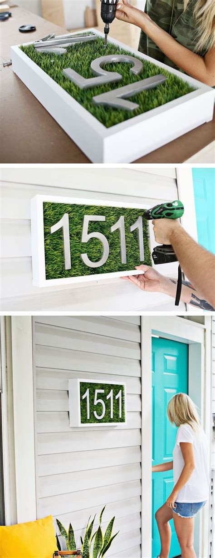 ideas  house numbers modern  pinterest