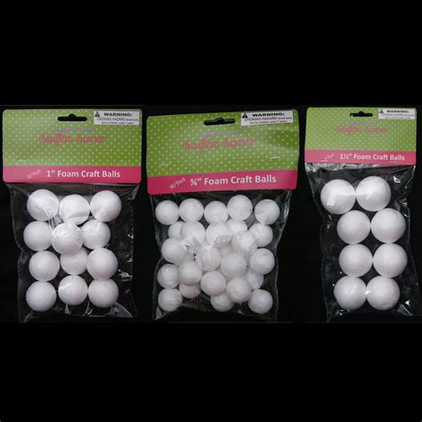 styrofoam crafts for 50 foam polystyrene craft styro white balls project