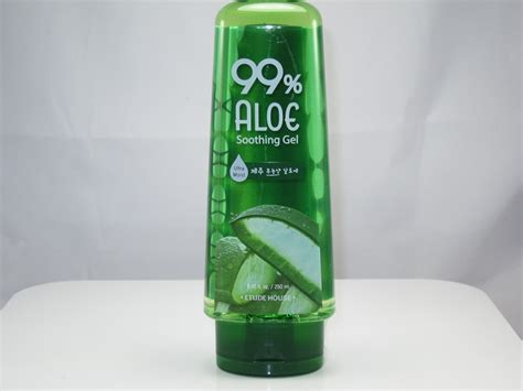 Aloe Vera Gel Etude etude house 99 aloe soothing gel review and
