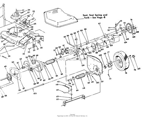 snapper parts diagram snapper 42113s 42 quot 11 hp rear engine rider series 3 parts