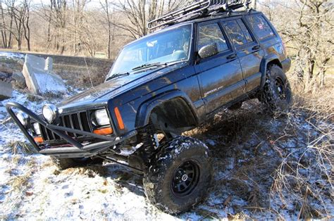4 5in suspension lift kit for 84 01 jeep xj