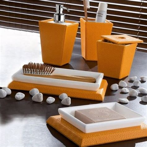 brown and orange bathroom accessories orange and brown bathroom sets my web value