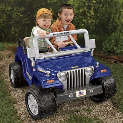 Fisher Price Battery Powered Power Wheels Jeep Wrangler