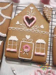 butter hearts sugar gingerbread house part 2 decorating