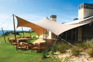 pristine awnings tensioned awning fabric architecture magazine