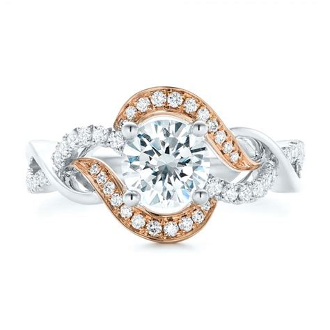 twist engagement ring 102489