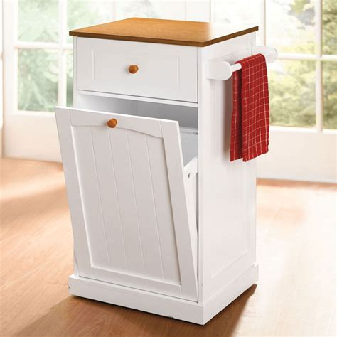 kitchen island trash kitchen island with trash bin white home design ideas