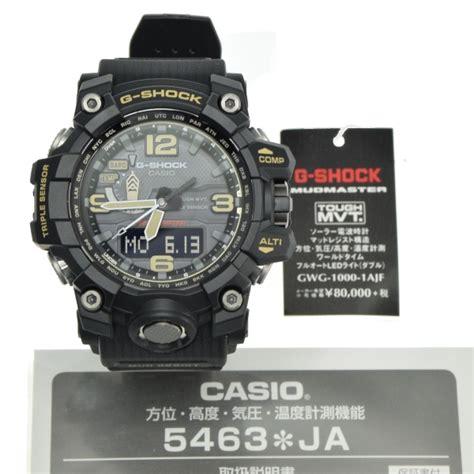 Casio G Shock Gwg 1000 Black casio g shock gwg 1000 1ajf mudmaster sensor