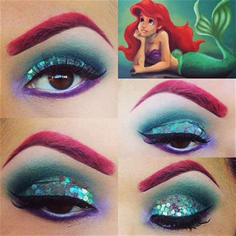 makeup tutorial little mermaid disney little mermaid makeup tutorials how to beauty
