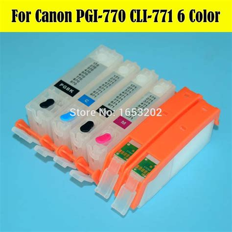 Canon Pgbk Ink Catridge Pgi770 popular canon 770 buy cheap canon 770 lots from china