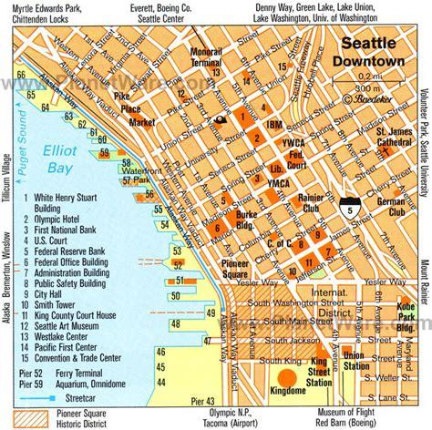 seattle map lynnwood downtown seattle map seattle