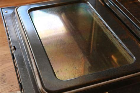 Glass Oven Door Cleaner Greasy Oven Door Tackled