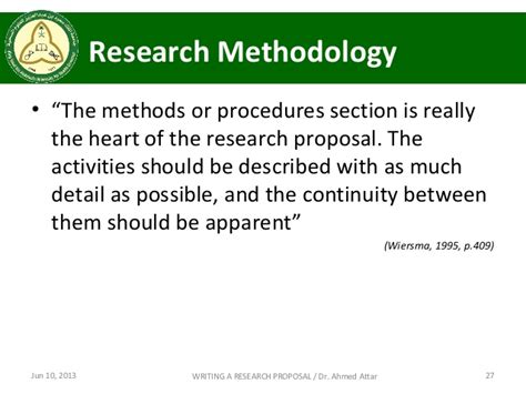 methods section of a research proposal writing research proposal