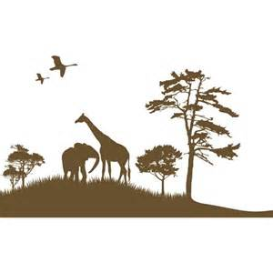 African Wall Stickers african grand safari nursery wall decal by couture d 233 co
