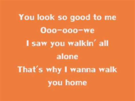 fats domino i wanna walk you home lyrics