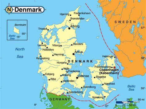 Denmark Search Map Of Denmark 187 Travel