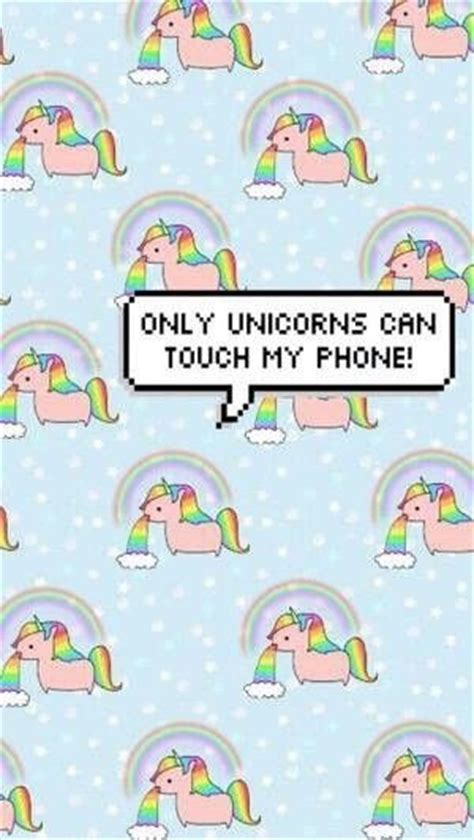 cute themes for myphone only unicorns can touch my phone art pinterest